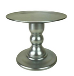 "Silver 9"" Round Plate Cake Stand (180/220)"