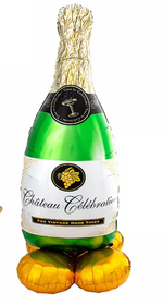 Chateau Celebration Giant Champagne Bottle, 60in - Over 5ft Tall