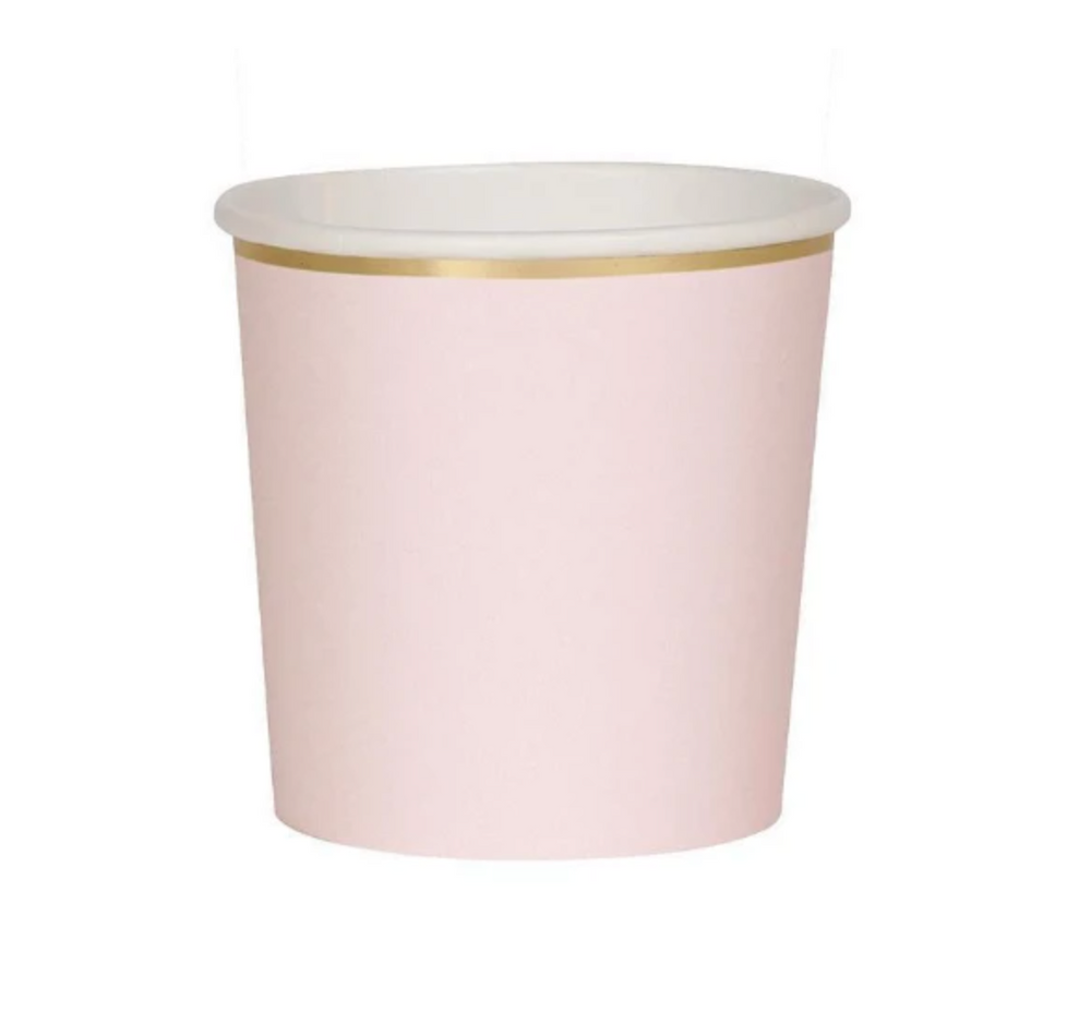 Dusky Pink Tumble Cups