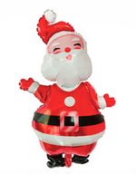 Giant Laughing Red Santa Foil Balloon