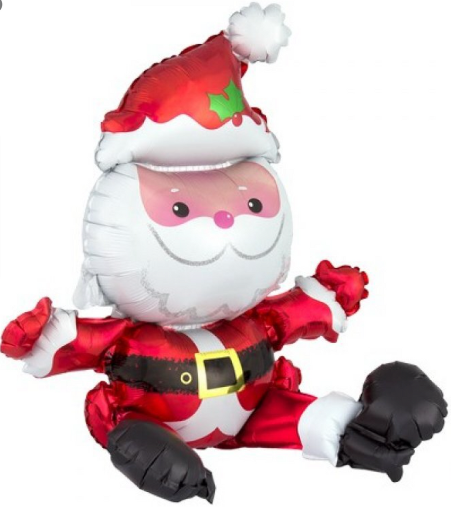 Sitting Santa Multi-Balloon
