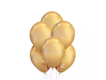 Gold Chrome Balloons 15ct, 11in.