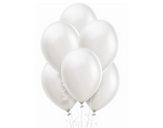 Pearl White Balloons 15ct, 12in.