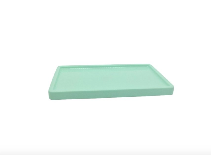 Mint Green Tray Display