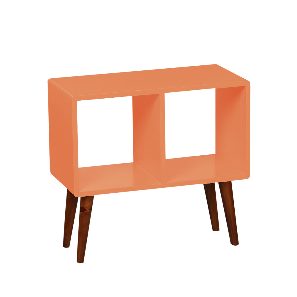 2-Tier Coral Nightstand Display - For Rent