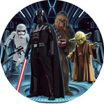 Star Wars Premium Fabric Backdrop 7ft Round - For Rent