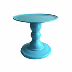 Tiffany Blue Mosaic Cake Holders - For Rent