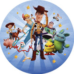 Toy Story 4 Premium Fabric Backdrop 7ft - For Rent