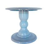 Light Blue Mosaic Cake Holders - For Rent
