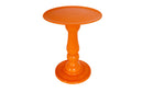 Orange Papaya Mosaic Cake Holders - For Rent