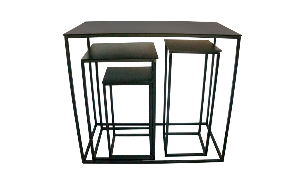 Black Tables ( 4 sizes)  - For Rent