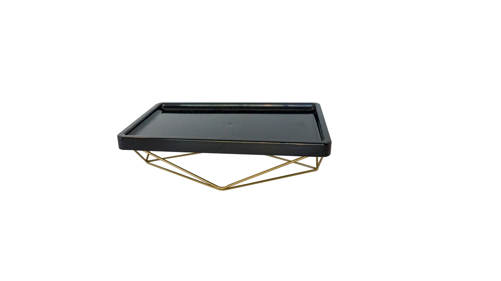 Gold Metal Base for Tray Display - For Rent
