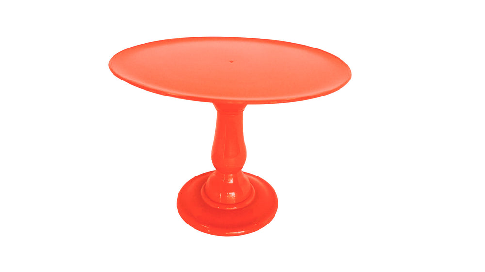 "Coral 12"" Round Plate Tall Cake Stand (235/320)"