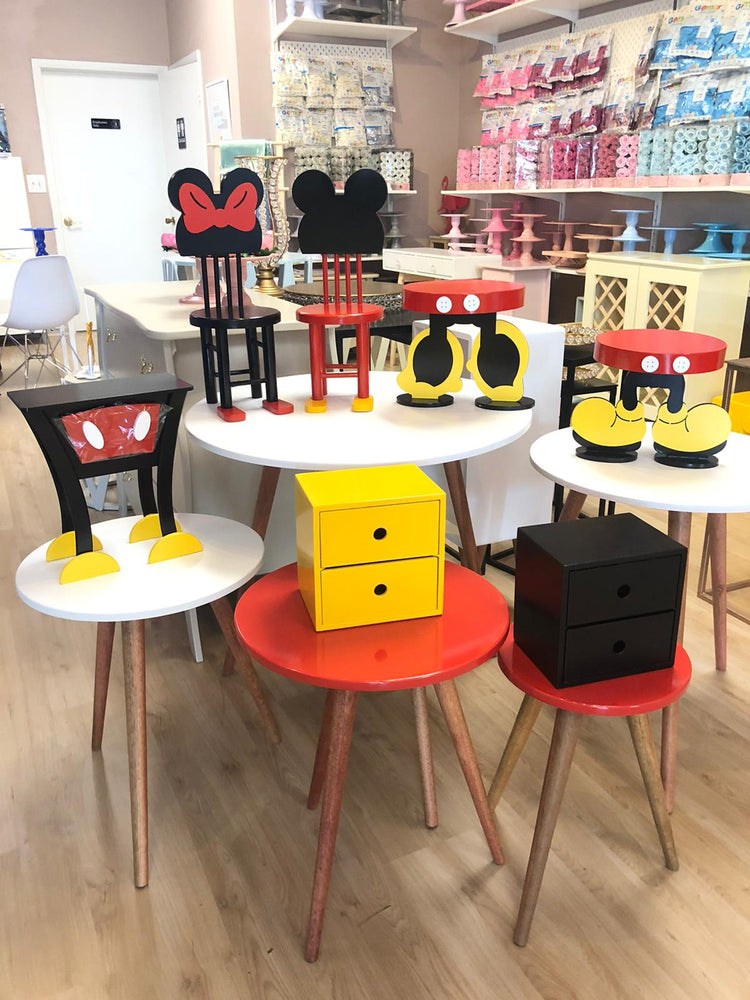 Minnie Mouse Ears Tabletop Chair - For Rent