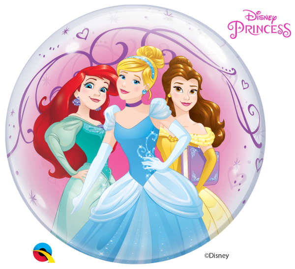 Disney Princesses Theme Bubble