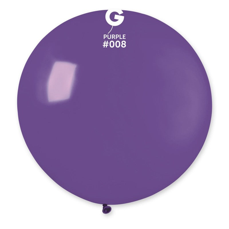 #008 Gemar Purple Latex Balloon