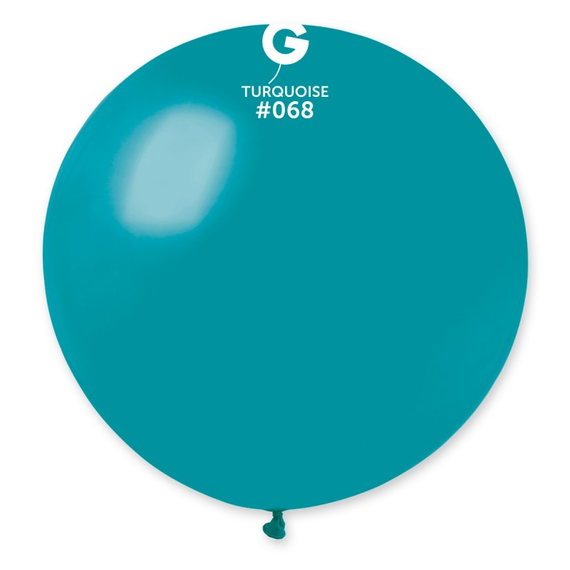 #068 Gemar Turquoise Latex Balloon