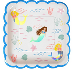 Mermaid Plates (Large)