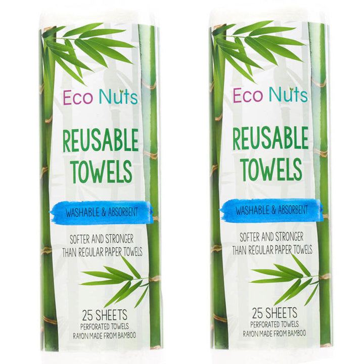 Eco Nuts Reusable Paper Towels - 2 Pack