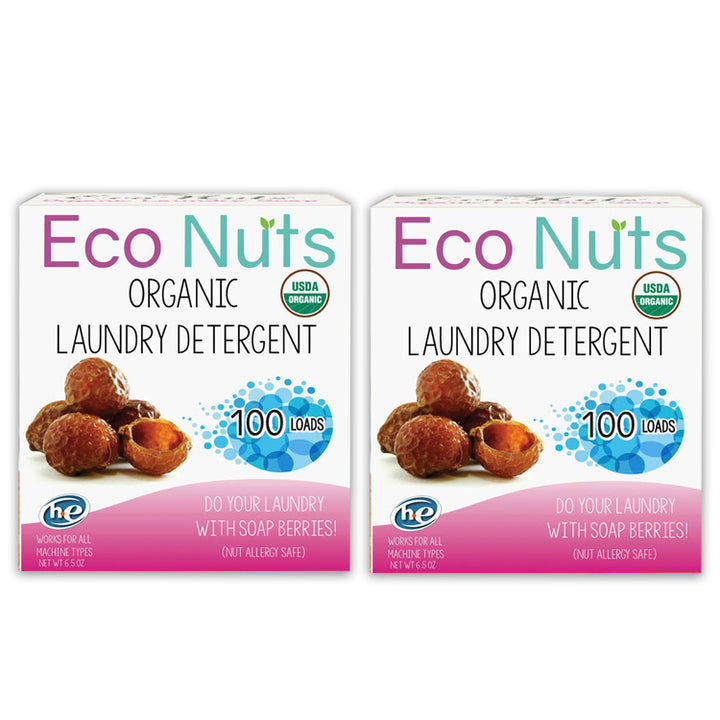 Eco Nuts Two Boxes of Soap Berries