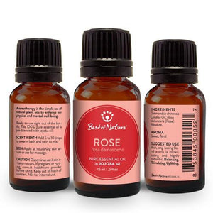 Rose Absolute Essential Oil blended with Jojoba Oil