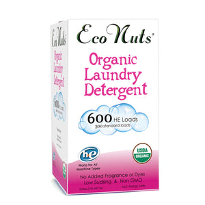 Eco Nuts Organic Liquid Laundry Detergent - 600 Loads