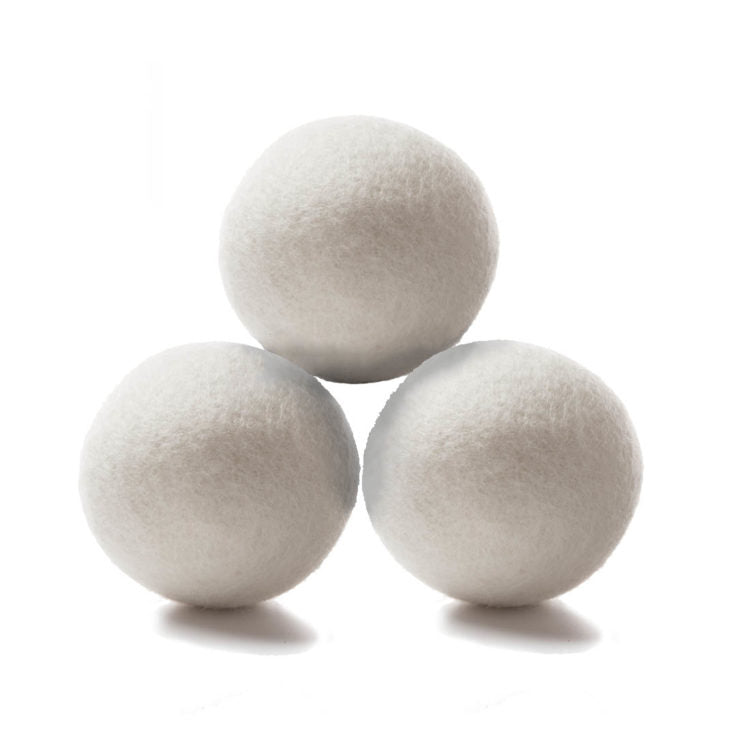 Eco Nuts 3 Plain Wool Dryer Balls