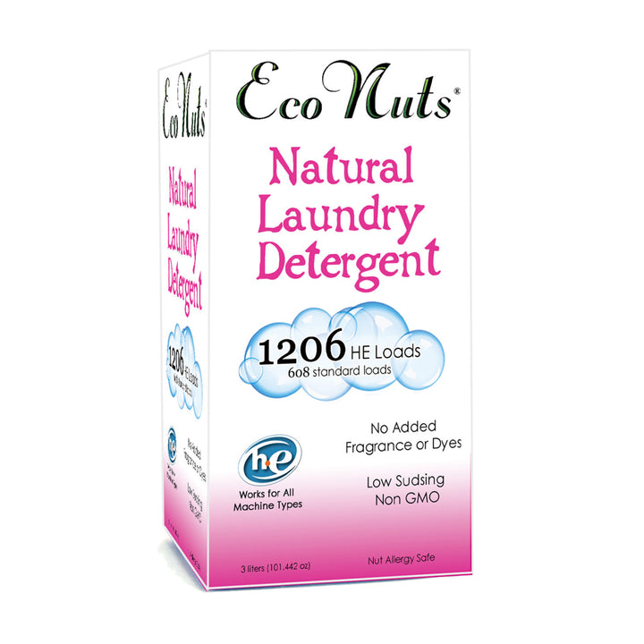 Eco Nuts Natural Laundry Detergent - 1206 Loads