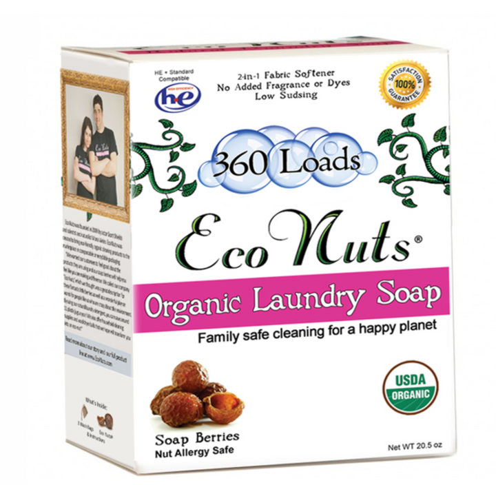 Old Style Large Size Soap Nuts (360 Loads)