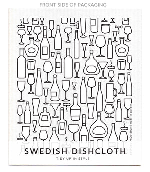 Vino Swedish Dishcloth