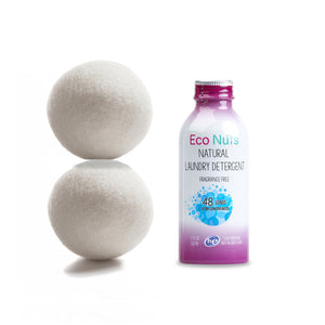 Eco Nuts Natural Liquid Detergent and 2 Dryer Balls