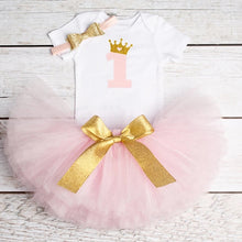 Load image into Gallery viewer, 1 Year Baby Girl Dress Princess Girls Tutu Dress Toddler Kids Clothes Birthday