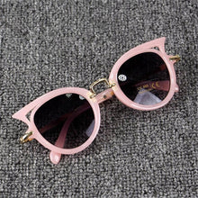 Load image into Gallery viewer, Toddler Girls Cat Eye Sunglasses (5 COLORS)