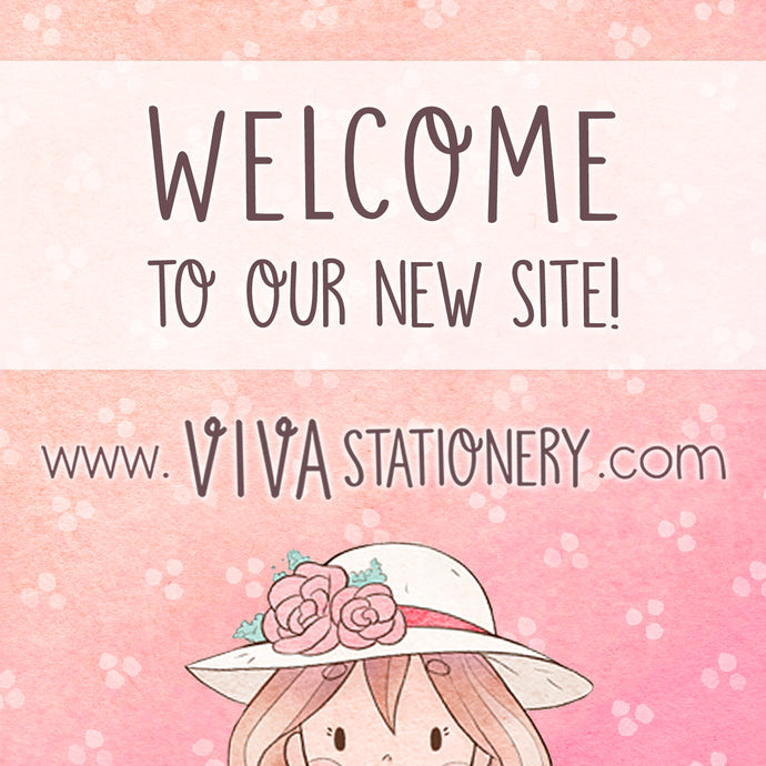 Welcome to the new Viva Stationery official shop!