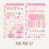 Sweet Christmas ~ Mini Sticker Kit for Planners ~ Available in 3 color schemes!