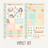 A Happy Easter ~ Mini Sticker Kit for Planners ~ Customizable!