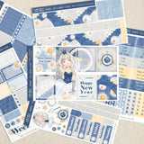 "Time Angel ~ ""Full 6 Sheets"" Weekly Sticker Kit"