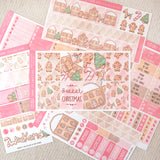"Sweet Christmas ~ ""Full 6 Sheets"" Weekly Sticker Kit ~ Available in 3 color schemes!"