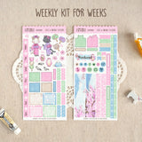 Hanami Cats ~Hobonichi Weeks Sticker Kit ~