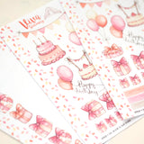 Birthday/Anniversary Celebration Decorative Stickers