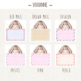 Writing Boxes ~Kawaii Girls~ Multiple options of customization!