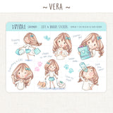 Kawaii Girl Decorative Stickers ~Girl Collection n.2~