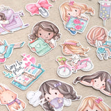 Choose your own!~ Die Cut Pack 5 pieces Cardboard or Sticker