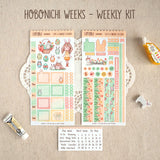 A Happy Easter ~Hobonichi Weeks Sticker Kit ~ Customizable!