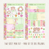 The Flowers of Tomorrow ~ Mini Sticker Kit for Planners ~ Customizable!