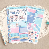 Sailor Cats ~ Mini Sticker Kit for Planners