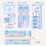 "Sailor Cats   ~ ""A la Carte"" Weekly Sticker Kit"