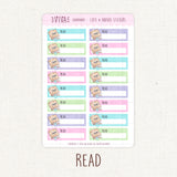 Student/Reader Regular Writing Box Stickers