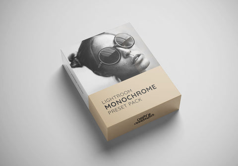 """Monochrome"" Preset-Pack (Lightroom)"