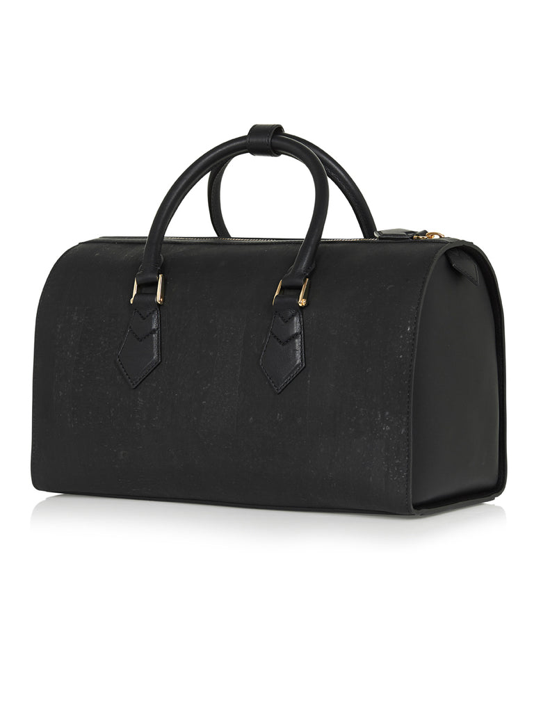 Catia Speedy - Black Leather and Cork